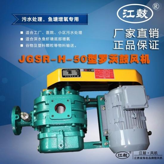 高压三叶型罗茨鼓风机JGSR-H-50型